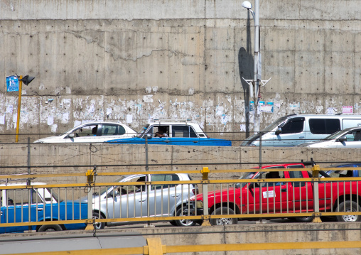Traffic jam in the city, Addis Ababa Region, Addis Ababa, Ethiopia