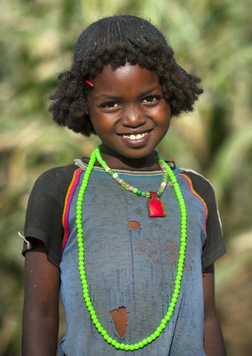 Darashe tribe girl, Omo valley, Ethiopia