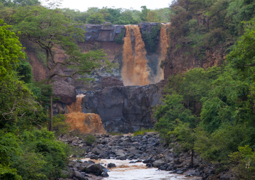 Waterfall In Omo Valley, Ethiopia