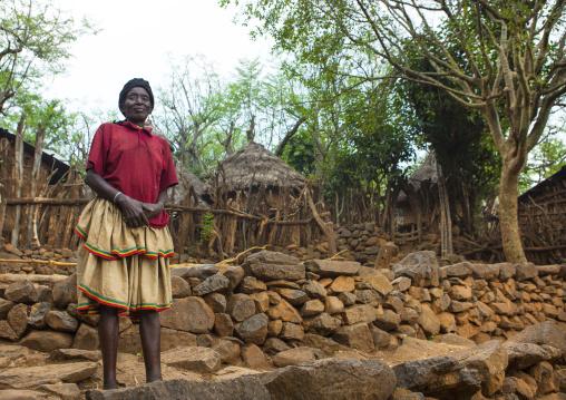 Konso Tribe Woman, Omo Valley, Ethiopia