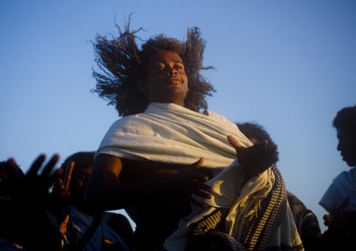 Afar tribe man, Assaita, Afar regional state, Ethiopia