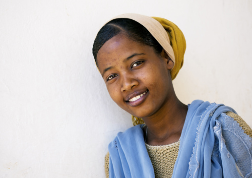 Cute Young Woman, Harar, Ethiopia