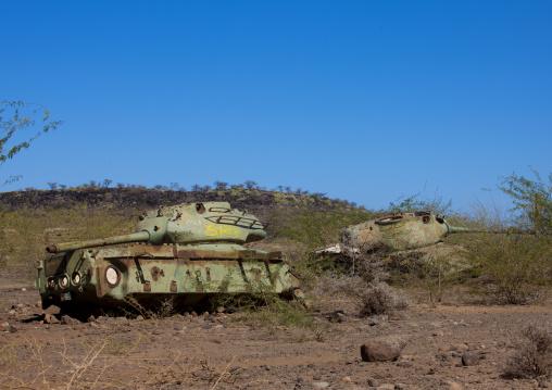 Old Tank From The Civil War Times, Dire Dawa, Ethiopia