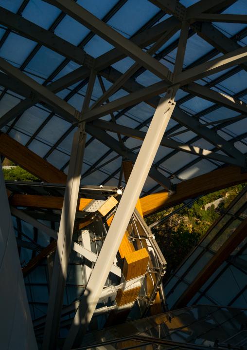Louis Vuitton Foundation, Bois De Boulogne, Paris, France
