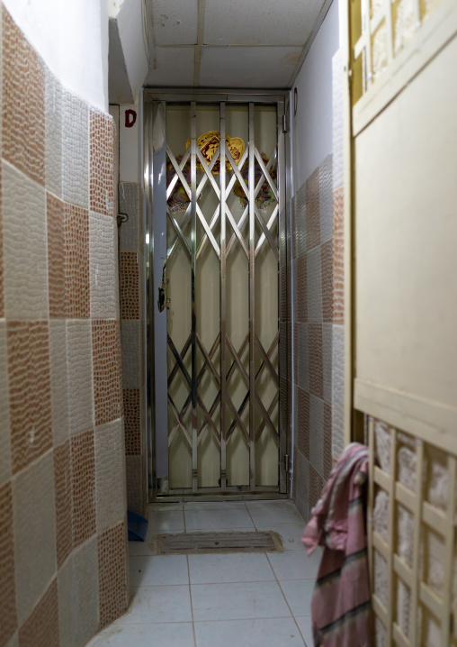 Micro-apartment in a partitioned flat, Special Administrative Region of the People's Republic of China, Hong Kong, China
