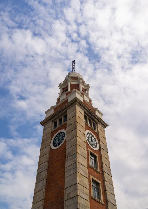 Tsim sha tsui clock tower, Kowloon, Hong Kong, China
