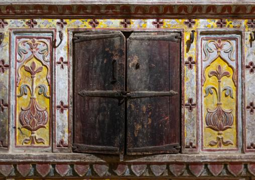 Patwa haveliwooden furnitures, Rajasthan, Jaisalmer, India
