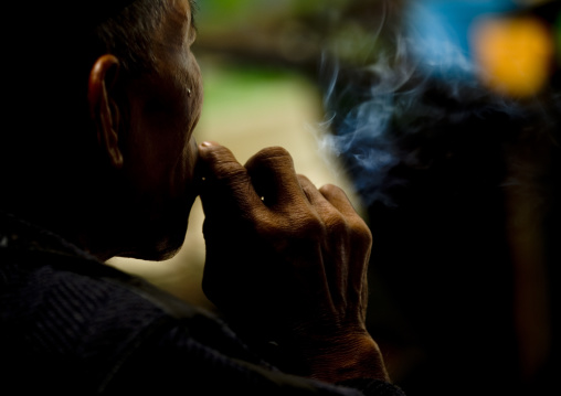Smoker, Java island indonesia