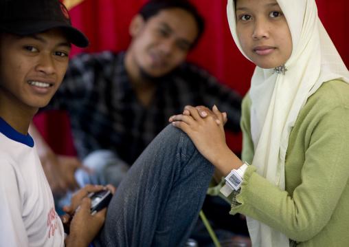 Teenagers, Java island indonesia