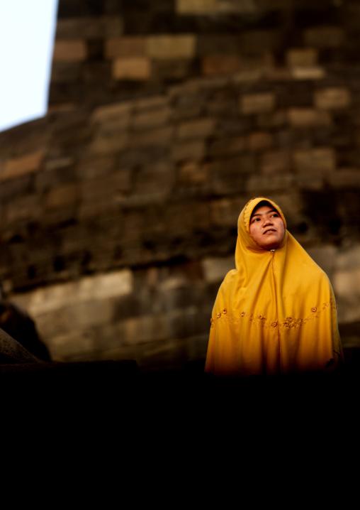 Borobudur temple,  Java island indonesia