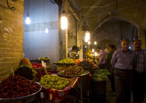Inside the old bazaar, Zanjan, Iran