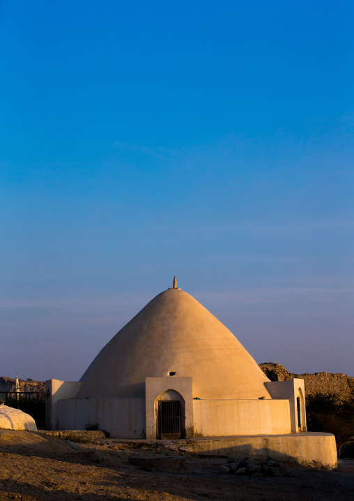 water reservoir in iranian traditional architecture, Qeshm Island, Laft, Iran