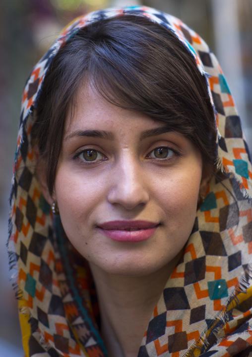Beautiful young kurdish woman, Palangan, Iran