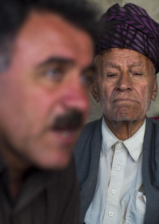 Kurdish men, Palangan, Iran