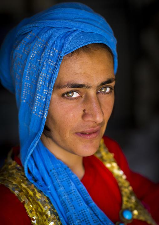Kurdish young woman, Palangan, Iran
