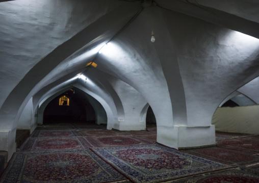 Winter prayer rooms of the masjid-i jami friday mosque, Isfahan province, Isfahan, Iran