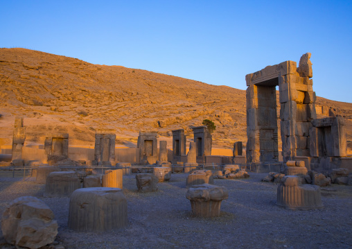 The site of Persepolis, Fars Province, Marvdasht, Iran