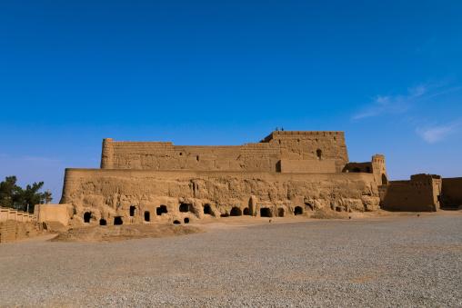 The Narin Qal'eh citadel, Yazd Province, Meybod, Iran