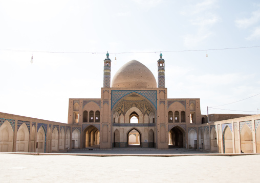 The 18th century agha bozorg mosque, Isfahan province, Kashan, Iran