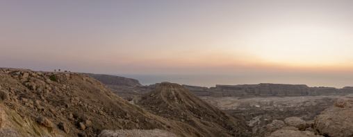 Persian gulf coast panorama, Hormozgan, Kushkenar, Iran