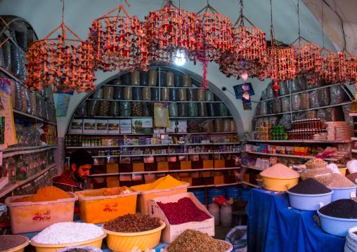 ganjali bazaar, Central County, Kerman, Iran