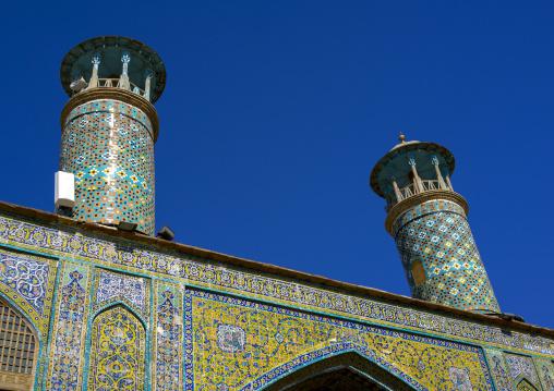 Dar Ol Ehsan Mosque Minarets, Sanandaj, Iran