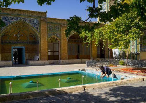Dar Ol Ehsan Mosque Pool, Sanandaj, Iran