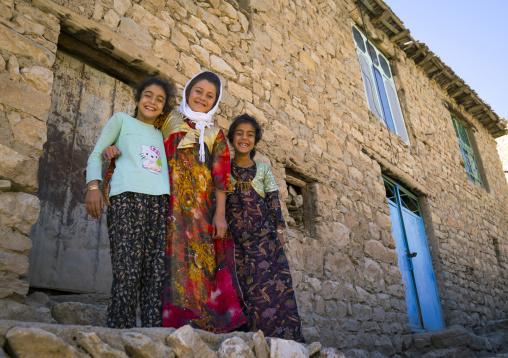 Children In The Old Kurdish Village Of Palangan, Iran