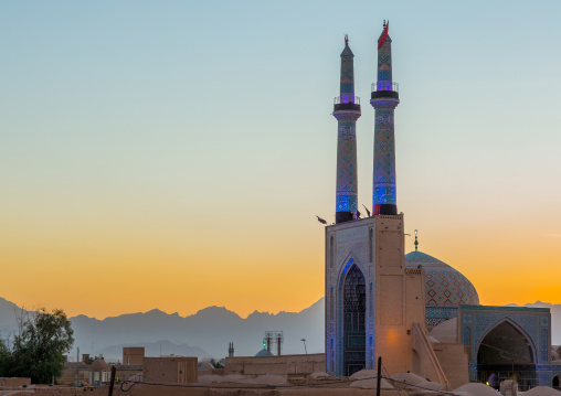 Jameh Masjid Or Friday Mosque, Yazd Province, Yazd, Iran