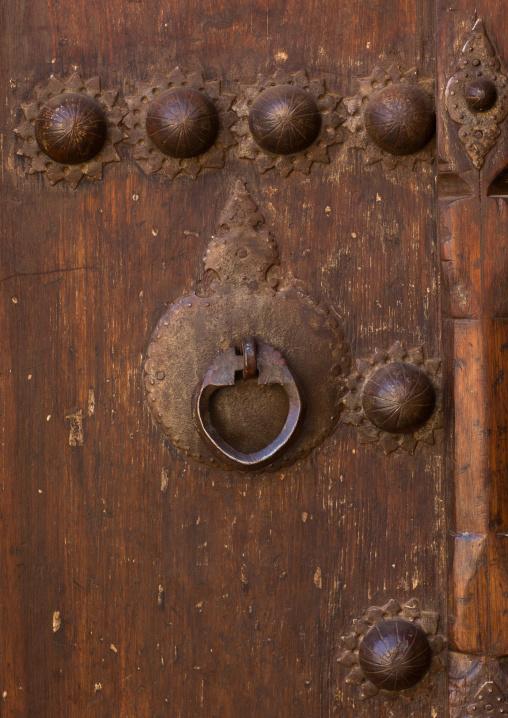 Ancient Female Doorknocker In Zoroastrian Village, Isfahan Province, Abyaneh, Iran