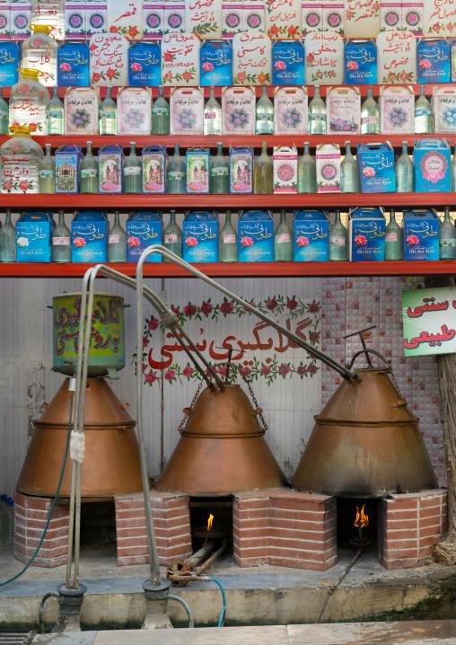 Rose Water Distillery, Isfahan Province, Kashan, Iran
