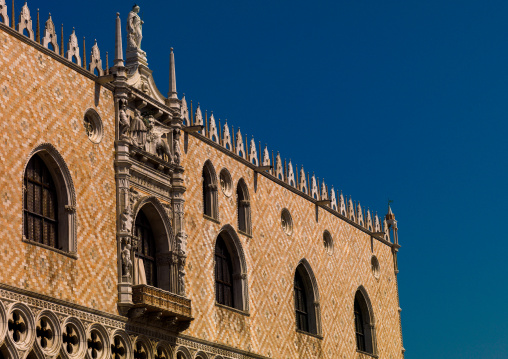 The Doge's palace, Veneto Region, Venice, Italy