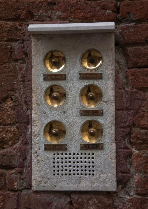 Doorbells, Veneto, Venice, Italia
