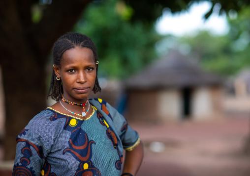 Portrait of a Peul tribe woman, Savanes district, Boundiali, Ivory Coast