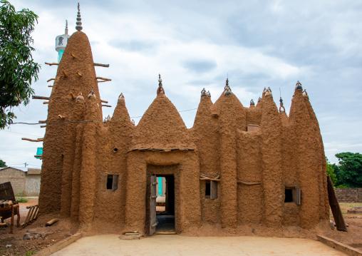 The 17th century sudano-sahelian mosque, Savanes district, Kouto, Ivory Coast