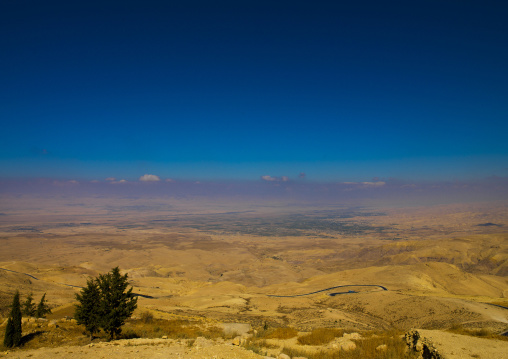 View From Mount Nebo In The Abarim Mountains, Jordan