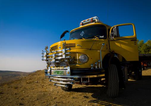 Truck In Karak, Jordan