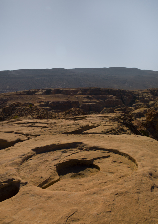 High Place Of Sacrifice On The Summit Of The Attuf Ridge, Petra, Jordan