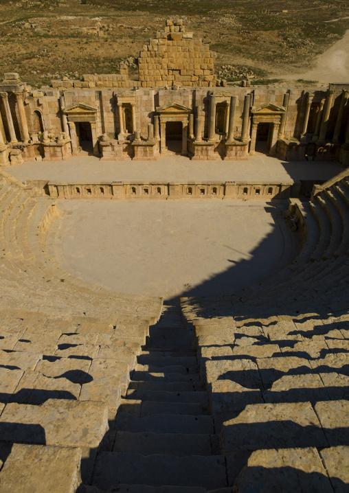 Theatre In Jerash Ruins, Jordan