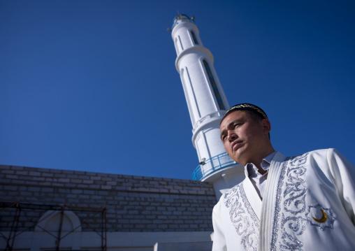 Mister Nahib, Imam In Bazar Mosque, Astana, Kazakhstan