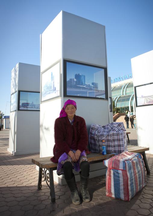 Miss Nuripa Arriving In Astana, Kazakhstan
