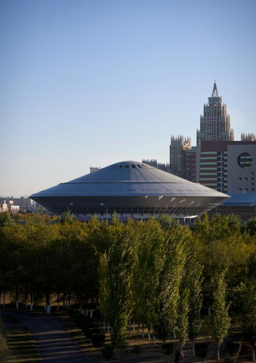 The Ufo Shaped Circus Of Astana, Kazakhstan