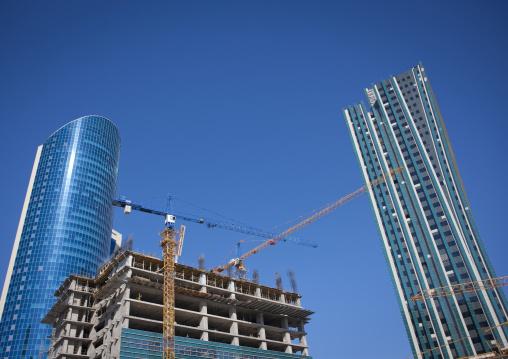 Buildings In Construction, Astana, Kazakhstan