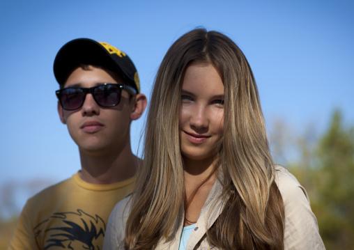 Ethnic Russian Teenagers, Astana, Kazakhstan