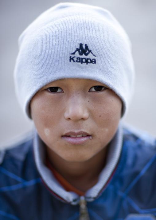 Ulam, Ethnic Kazakh Boy, Astana, Kazakhstan