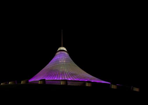 Khan Shatyr Giant Tent By Night, Astana, Kazakhstan