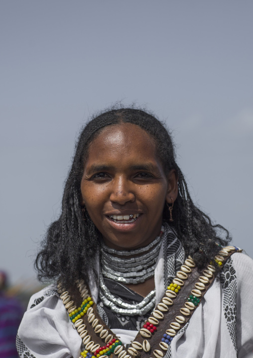 Borana tribe woman, Turkana lake, Loiyangalani, Kenya