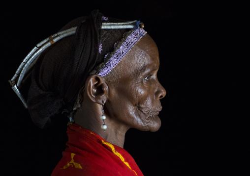 Gabbra tribe woman, Chalbi desert, Kalacha, Kenya