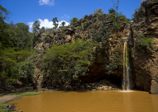 Waterfalls cascades, Nakuru district of the rift valley province, Nakuru, Kenya