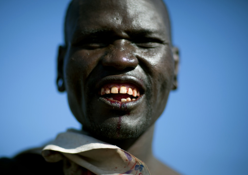Samburu tribe warrior, Kenya